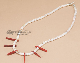 """Native American Indian Beaded Necklace 26"""""""