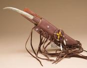 Navajo Antler Handled Knife