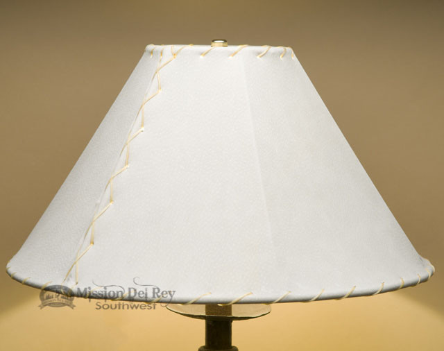 Southwest Leather Lamp Shade 16 Quot Natural Pig Skin