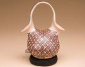 Hand painted Mata Ortiz pottery Vase