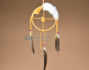 Mini Medicine Wheel - Deer Skin and Rabbit Fur