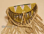 Sioux Indian Vintage Beaded Medicine Bag