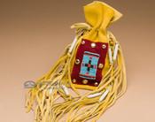 Pueblo Indian Buckskin Medicine Bag