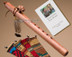 Native American Flute Walnut Buffalo