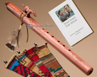 Native American Flute Walnut Horse