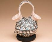 Mata Ortiz Painted Pottery - Wedding Vase