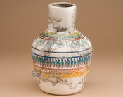 Southwest Rainbow Horsehair Pottery