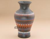 Navajo Etched Pottery Vase