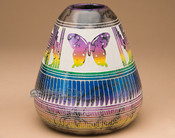 Horsehair Etched Rainbow - Butterfly