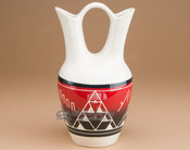 "Lakota Glazed Wedding Vase 10"" -Sioux (nap353)"