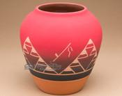 "Lakota Indian Harvest Vase 7.25"" -Sioux (p610)"