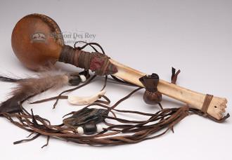 Spirit Deer Rawhide Rattle