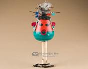 Pueblo Indian Gourd Rattle - Zuni