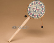 Rawhide hand spinner drum