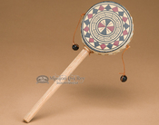 Rawhide hand spinner drum