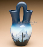 Wedding vase pottery - Navajo.