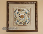 Navajo Sand Painting -Wall Art