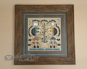 Sand Painting Wall Art - Navajo