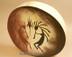 Hand painted Tarahumara Indian rawhide hoop drum