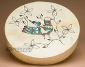 Painted Drum -Tigua Indian Rain Bird