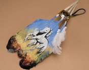 Native American Style Painted Feathers - (PF26)