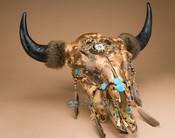 Native American Buffalo Skull