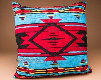 Pueblo Turquoise Designer Pillow 20x20 (pillow51) - Mission Del Rey Southwest