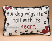 Decorator Dog Lover Pillow 9x13 (P53)