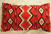 Wool Southwest Pillow Cover 20x32 -Rock Point
