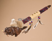 Creek Antler Bowl Peace Pipe
