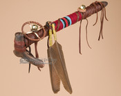 Tigua Indian Antler Peace Pipe