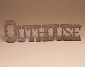 Metal Wall Art - Outhouse