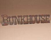 Metal Art Sign - Bunkhouse