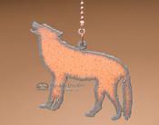 Rustic Metal Chainpull - Wolf