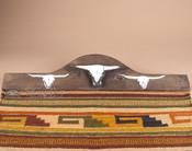 Western Rug Hanger - Steers