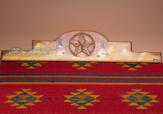 Southwest Zapotec Rug Wall Hanger 30 Quot Teepee Rh25
