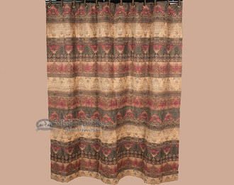 Del Sierra Southwestern Shower Curtain
