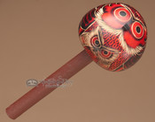 Andean Indian Gourd Rattle-Red Owl