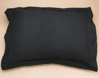 Southwestern Pillow Shams : Black Acrylic Bedspread Pillow Sham