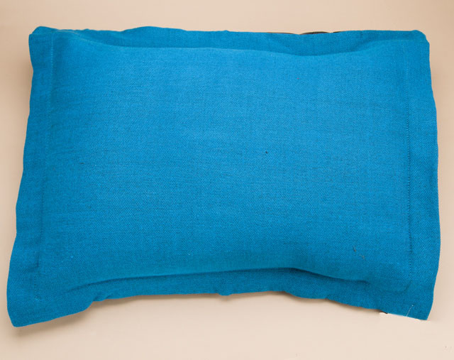 Southwestern Pillow Shams : Blue Matching Pillow Sham