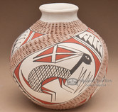 Southwest Painted Mata Ortiz Pottery - Rabbit
