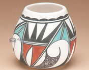 Painted Clay Pottery - Tigua