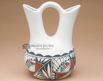 Native American Wedding Vase - Sunface