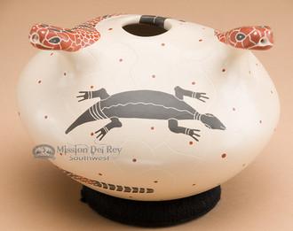 Mata Ortiz pottery - snake