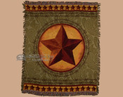 Western Star Throw Blanket