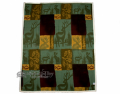 Lodge Style Fleece Throw