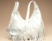 Fringed Southwest Leather Concho Purse