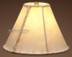"Southwestern rawhide lamp shade. 10"""