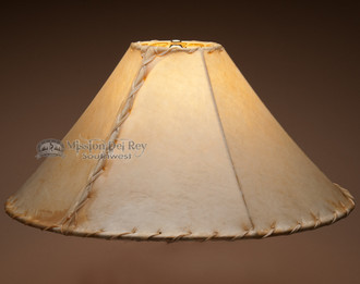 Southwestern rawhide lamp shade 20 table or floor mission del rawhide southwestern lite lampshade 20 aloadofball Images