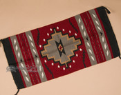 Classic Native Navajo Style Wool Rug 20x40 (40211)